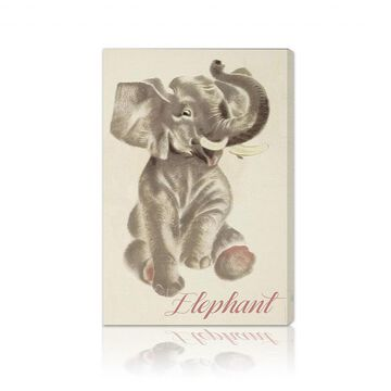 Oliver Gal 'Elephant' Canvas Art