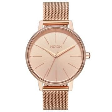 Nixon Women's Kensington Milanese Stainless Steel Mesh Bracelet Watch 37mm
