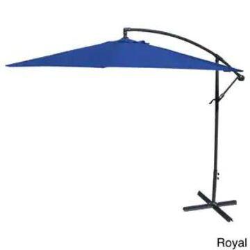 Jordan Manufacturing Steel 10-foot Offset Umbrella (Royal)