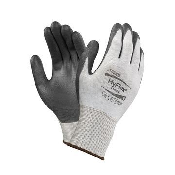 Ansell 11-624-10 HyFlex Dyneema/Lycra Gloves, X-Large, Size 10, 12 Pairs