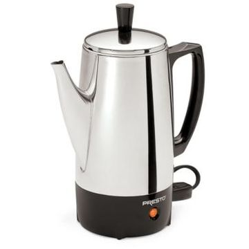 Presto 2 to 6-Cup Stainless Steel Percolator