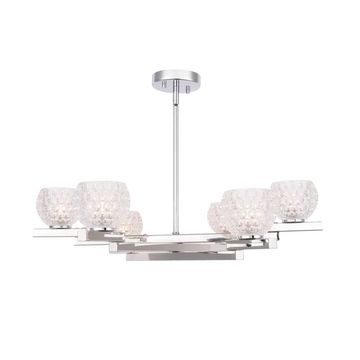 Woodbridge Lighting 18516 Jewel 6-light Chandelier