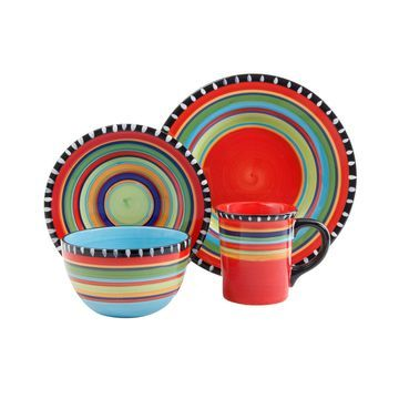 Gibson Elite Pueblo Springs 16-pc. Dinnerware Set