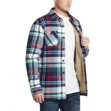Weatherproof Vintage Men's Sherpa-Lined Shirt Jacket