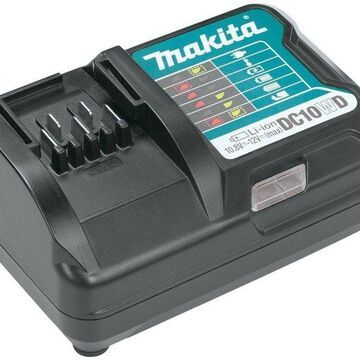 Black Power Tool Makita 12-Volt MAX CXT Slide StyleLithium-Ion Battery Charger