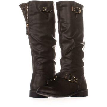 Xoxo Womens Minkler Round Toe Knee High Fashion Boots