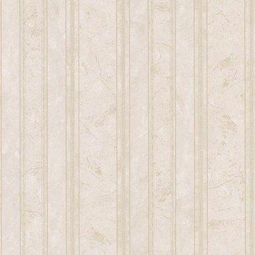 Brewster Pippa Sand Marble Stripe Wallpaper