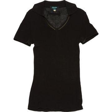 Jean Paul Gaultier Black Cotton Polo shirts
