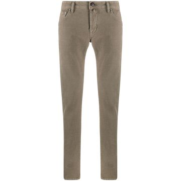 comfort-fit chino trousers