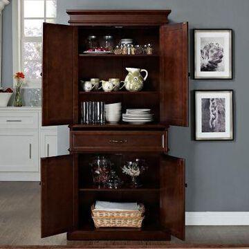 Crosley Parsons Pantry Cabinet, CF3100BK