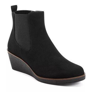 Aerosoles Brandi Women's Wedge Ankle Boots, Size: 10, Black