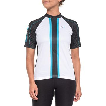 Louis Garneau Limited Cycling Jersey - UPF 40, Zip Neck, Short Sleeve (For Women)