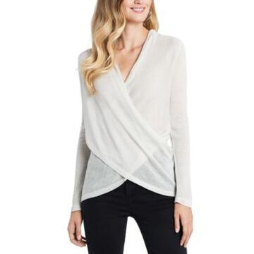 1.state Draped Cross-Front Top