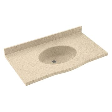 Swanstone 31W x 22.5D in. Europa Solid Surface Vanity Top