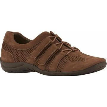 Walking Cradles Women's Audio Lace Up Earth Roughout Leather/Mesh