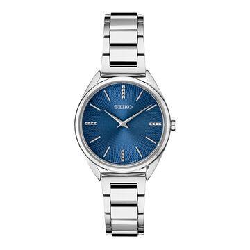 Seiko Women's Stainless Steel Modern Dress Watch - SWR033