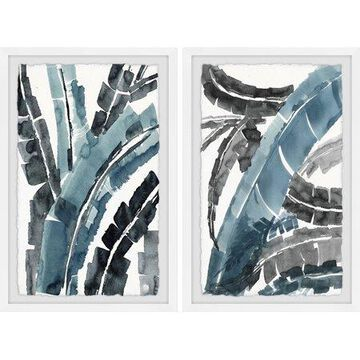 Marmont Hill Dramatic Palms Diptych