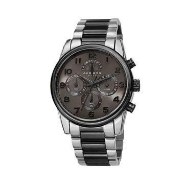 Akribos XXIV Men's Two Tone Chronograph Watch - AK1042TTB