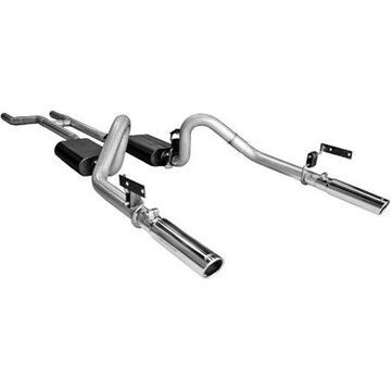 Flowmaster 17281 Header-back System - Dual Rear Exit - American Thunder - Aggressive Sound
