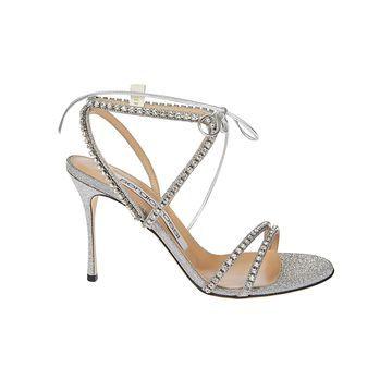 Sergio Rossi Embellished Strap Sandals