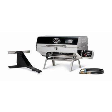 Camco 57305 Olympian 5500 Stainless Steel Portable Gas Grill - For RV and Outdoor Use