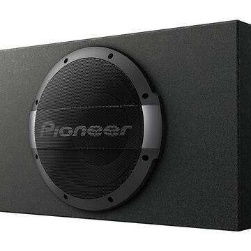 """Pioneer 10"""" Shallow Sealed Subwoofer With Bulit-In Amplifier"""