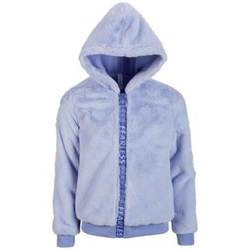 Ideology Big Girls Fuzzy Fleece Zip-Up Jacket, Created for Macy's