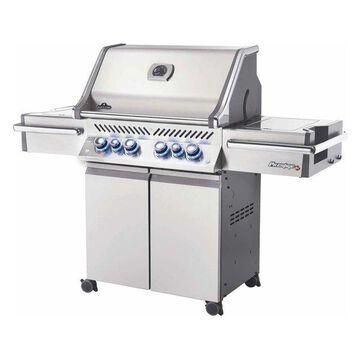 Prestige PRO 500 Grill On Cart w/ IR Rotisserie & Side Burner, Propane