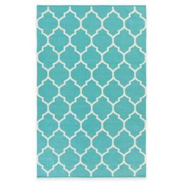 Artist Weavers Vogue Claire 5-Foot x 8-Foot Area Rug in Teal