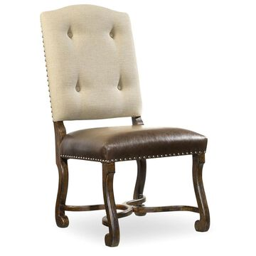 Hooker Furniture Treviso Camelback Side Chair