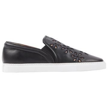 Tabitha Simmons Black Leather Trainers