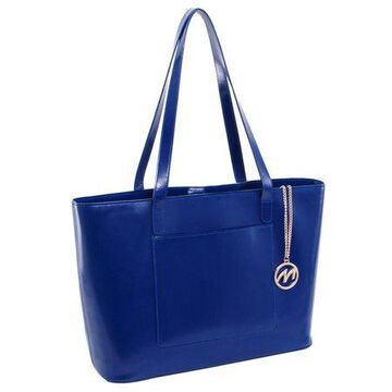 McKlein, M Series, ALYSON, Top Grain Cowhide Leather, Leather Ladies' Tote with Tablet Pocket