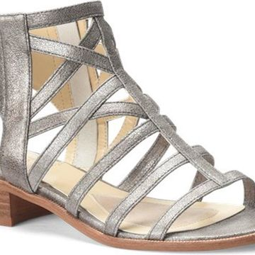 Isola Womens Genesis Leather Open Toe Casual Strappy
