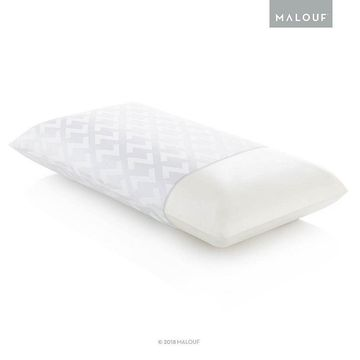Malouf Z Low Loft Plush Memory Foam Pillow