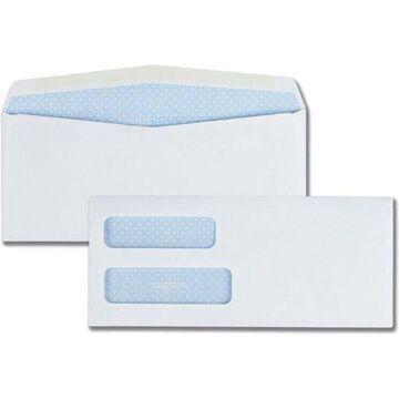 Quality Park Double Window Envelopes for Checks & Invoices, Size 10, 4-1/8