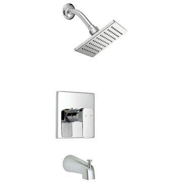 Design House Karsen Polished Chrome 1-Handle Bathtub and Shower Faucet with Valve | 547604