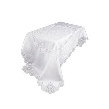 XIA Home Fashions 0.1-in White Tabletop Decoration Polyester   XD1719072144WHITE