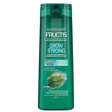 Garnier Grow Strong Deep Clean & Fortifying Shampoo, 650 mL
