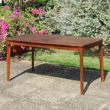 International Caravan Highland 55-inch Dining Table