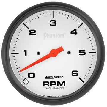 AutoMeter 5876 Phantom II In-Dash Tachometer