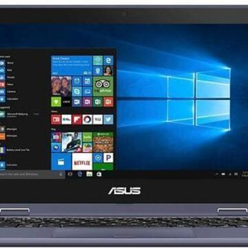 Asus VivoBook 90NB0H01-M02890 11.6 Inch Touch Screen Flip Laptop - Intel Pentium N4200 - 4 GB RAM - 128 GB Solid State Drive - Windows 10 Home S mode