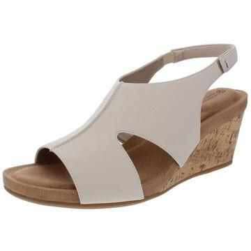 Giani Bernini Womens Caseyy Open Toe Memory Foam Wedge Sandals