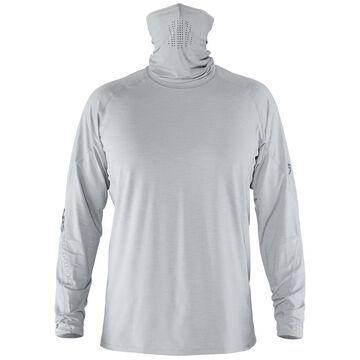 NRS Men's Baja Sun Long Sleeve Shirt Size Small Color Quarry