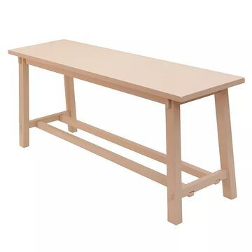 Decor Therapy Kyoto Bench, Pink
