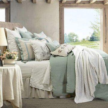 HiEnd Accents 4Pc Belmont Comforter Set Super King, FB1611-SK-OC