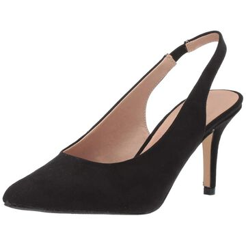 Madden Girl Womens Darcie Suede Closed Toe SlingBack Classic Pumps