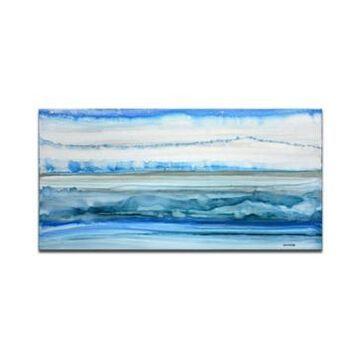 "Ready2HangArt 'Cold Morning' Canvas Wall Art, 18x36"""