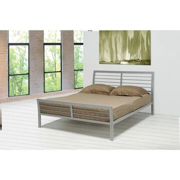 Coaster Company Silver Metal Bed