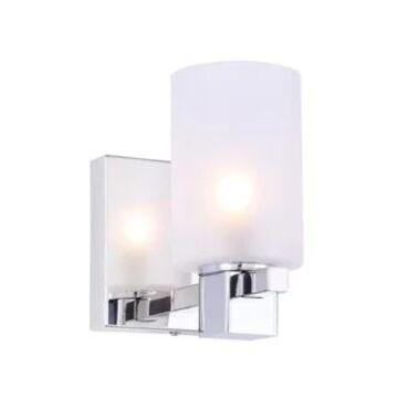 Woodbridge Lighting 18451CHRLE-C80401 Langston 1-light Bath/ Wall w/ LED