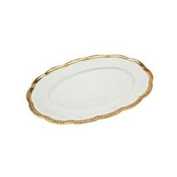 Campania Oval Porcelain Tray